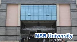 MS Ramaiah University Bangalore